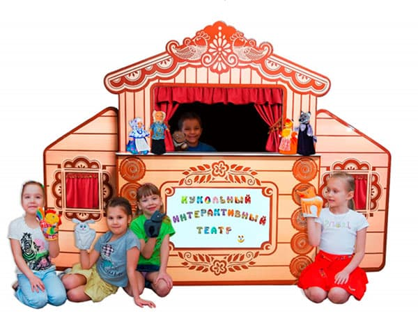 Кукольный театр для игры всем детям включая детей с ограничениями