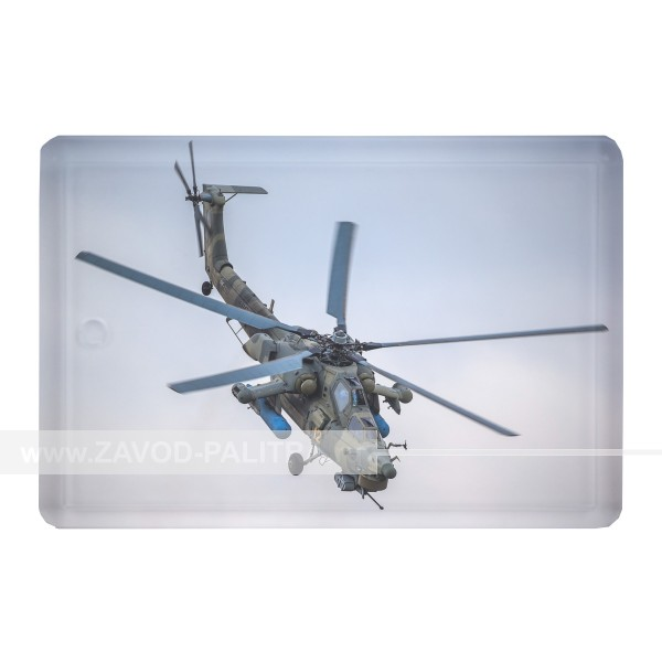 """Магнит акриловый сувенирный """"Вертолёт МИ-28"""""""