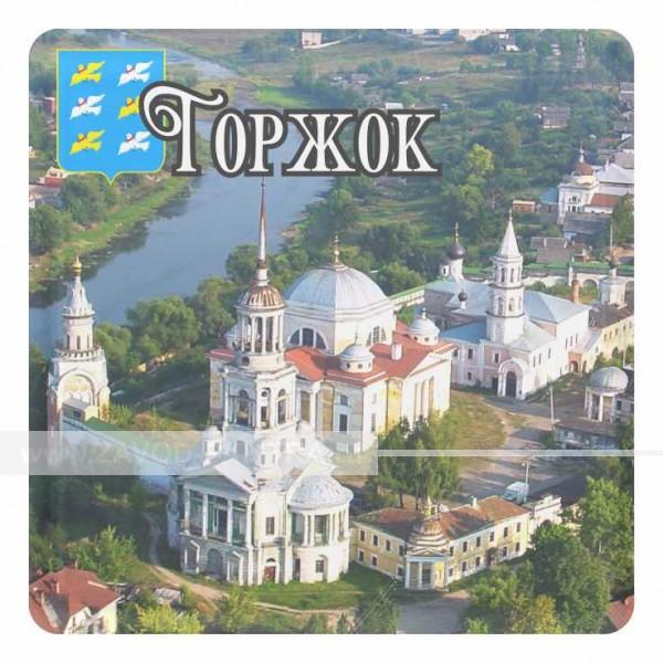 """Магнит акриловый """"Борисоглебский монастырь со вставкой 57х57"""" макет 5"""