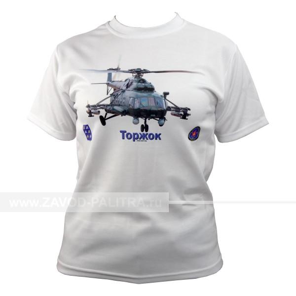 """Футболка """"Вертолёт МИ-8"""" макет 6"""