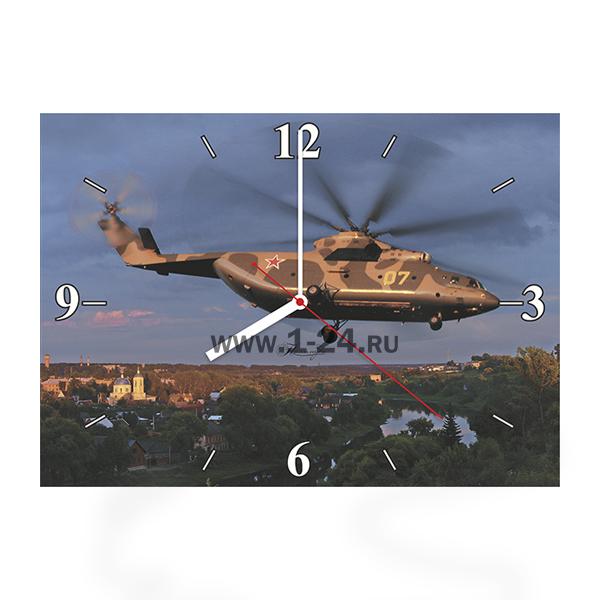Ми-26 в вечернем небе, двойные со стеклом