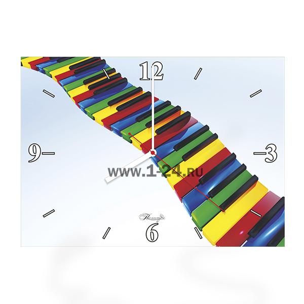 Цветные клавиши, двойные со стеклом