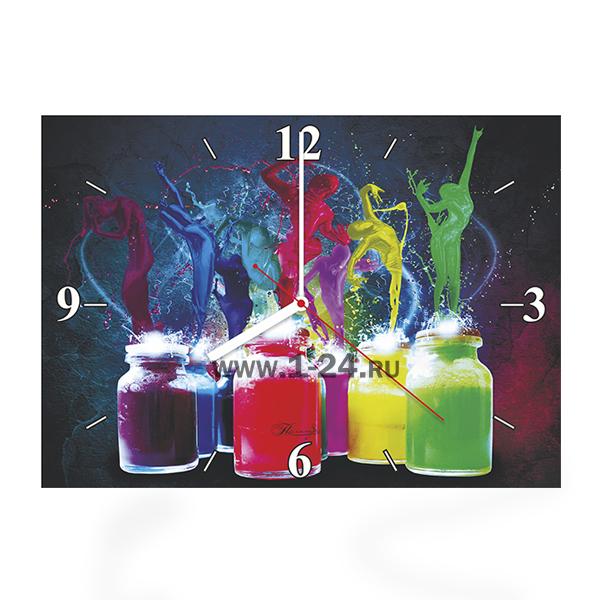 Танцующие краски, двойные со стеклом