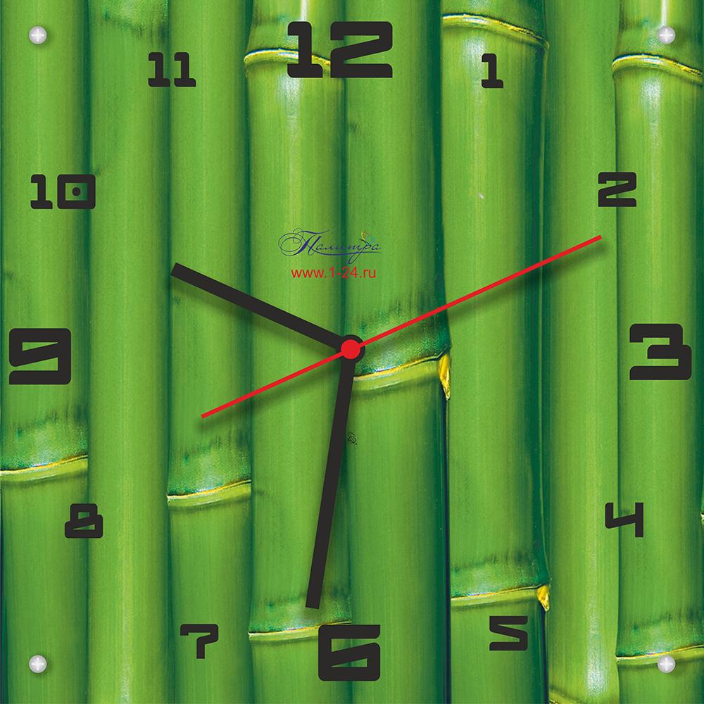 Зелёный бамбук, двойные со стеклом