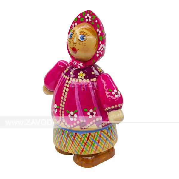Кукла ручной работы Девушка в платочке