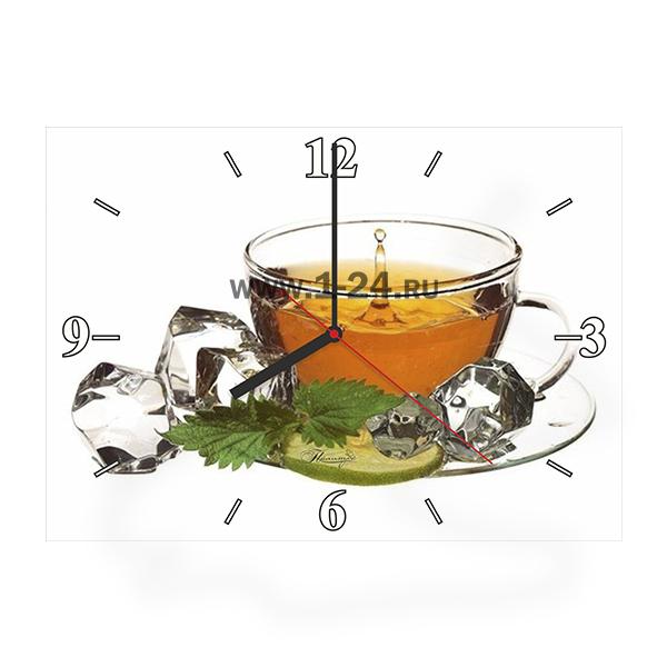 Чай с льдом и лимоном, двойные со стеклом