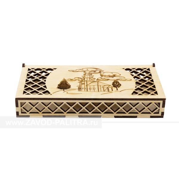 Коробка для денег Торжок Деревянная церковь
