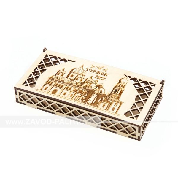 Коробка для денег Торжок Михайловская церковь