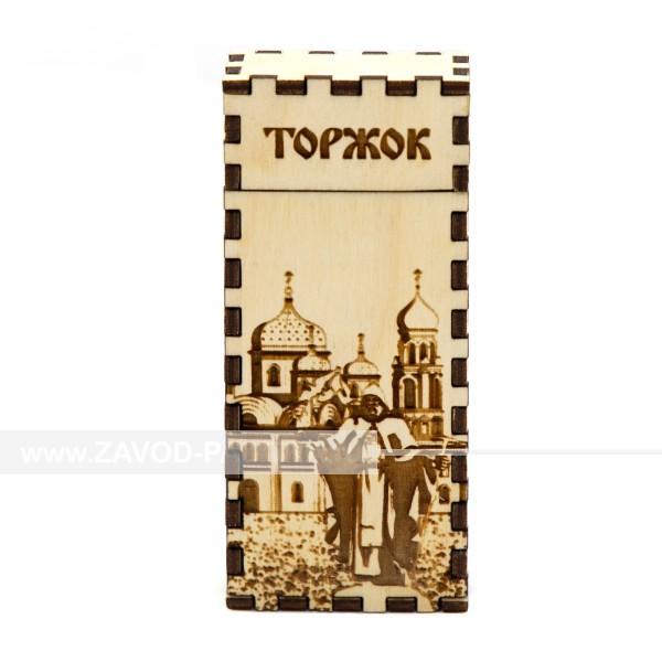 Портсигар Торжок Михайловская церковь