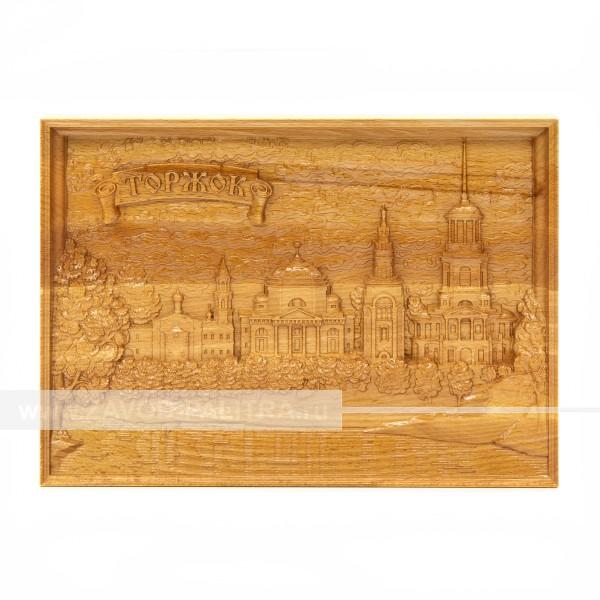 Картина на дереве А4 под ручную работу Борисоглебский монастырь