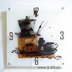 """Часы """"Старая кофемолка"""" Арт. 00154"""
