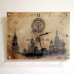 """Часы """"Москва на папирусе"""" Арт. 00159"""