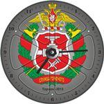 """Часы """"Служба горючего"""", Арт. 00202"""