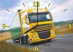"Часы ""DAF желтый"" Арт. 00208"