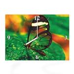 """Часы """"Прозрачная бабочка"""" Арт. 00349"""