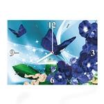 """Часы """"Синие бабочки"""" Арт. 00360"""