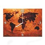 "Часы ""Карта мира"" Арт. 00361"