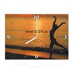 """Часы """"Танец на закате"""" Арт. 00405"""