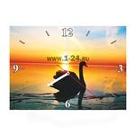 """Часы """"Лебедь"""" Арт. 00406"""
