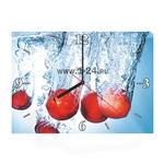 """Часы """"Персики в воде"""" Арт. 00413"""