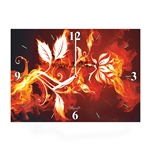 """Часы """"Огненный цветок"""" Арт. 00423"""