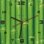 """Часы """"Зелёный бамбук"""", Арт. 00502"""