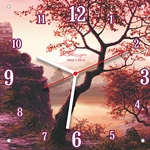 Часы двойные со стеклом
