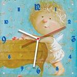 """Часы """"Ангел на носочках"""" Арт. 00510"""