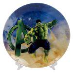 Сувенирная тарелка «Халк»