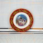 Сувенирная тарелка «Древний город куполов»