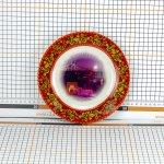 Сувенирная тарелка «Вечерняя Тверь»