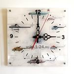 """Часы """"Вертолеты"""" Арт. 00129"""