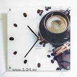 """Часы """"Кофе и шоколад"""" Арт. 00157"""