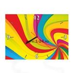 "Часы ""Цветная воронка"" Арт. 00340"
