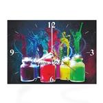 """Часы """"Танцующие краски"""" Арт. 00342"""
