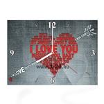 """Часы """"I love you"""" Арт. 00383"""