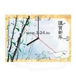 """Часы """"Японские камыши"""" Арт. 00429"""