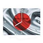 "Часы ""Флаг Японии"" Арт. 00434"