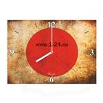 """Часы """"Винтажный флаг"""" Арт. 00435"""