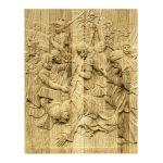 Картина на дереве А4 под ручную работу Борисоглебский монастырь 60104-1