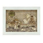 Картина-коробочка 3D многослойная Борисоглебский монастырь